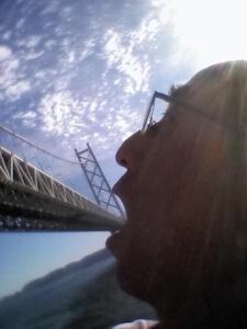 井上さんは明石海峡大橋まで行かれたそうで!美味しそうに食べてますなぁ