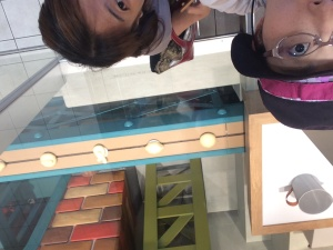 私の友人でもある濱田判定士と。生粋の神戸市民も初めて来たようで…