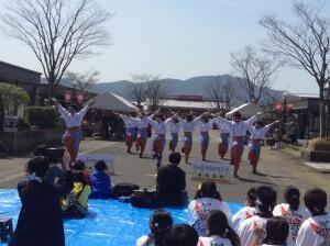 熊本の「肥後真狗舞」の学生さんたちが一生懸命会場を盛り上げていたのが印象的…!!