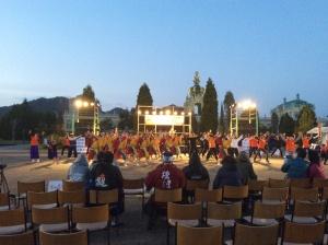 最後にオール佐賀で佐賀の総踊りを演舞!2日間お疲れ様でした!!