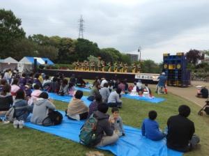 久しぶりの富士でしたが、すっかり根付いた感が。もう少し地元の人たちが参加してもらえると。