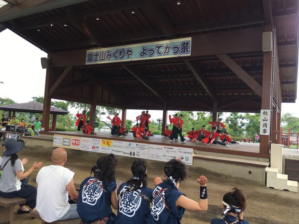 御殿場は爽やかな風が吹き渡り、快適な1日でした。今日は関東のお祭りじゃなくて良かった…
