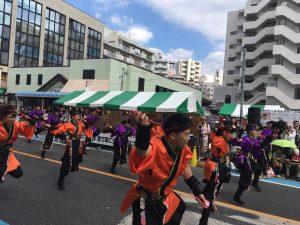 福岡の「Kagashi無限隊」さんは本当に来ていてビックリ!なぜ参加しようと思ったんだろう…