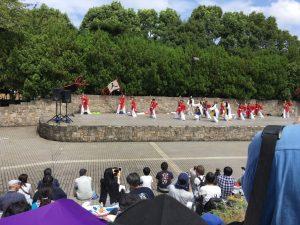 写真は福岡からようこそ!INTEGRALさん。INTEGRALさんといい、流本隊といい、台風が来ていたけど無事帰れたのかな?