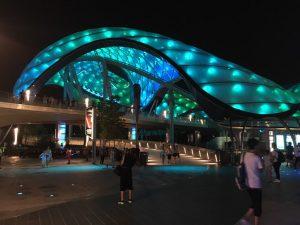 こちらが夜のトロン!これは美しいですね!