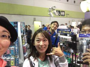 会えるとは思っていなかったのでビックリ!次は来年の名古屋ウィメンズでお会いしましょう!